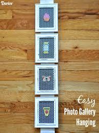 diy photo frame wall hanging darice 1