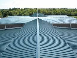 metal roof by steel roofing companies