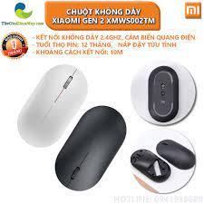 Chuột không dây Xiaomi gen 2 XMWS002TM - Bảo hành 1 tháng - Shop Thế Giới  Điện Máy - Chuột Văn Phòng