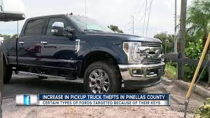Thefts of pick-up trucks on the rise in Pinellas County