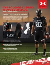 under armour football. football unveils under armour\u0027s toughest jersey ever made armour f