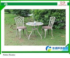 cast aluminum patio furniture vintage