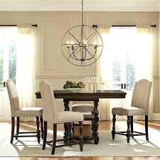 winners only 6 piece counter height dining set chairs sets