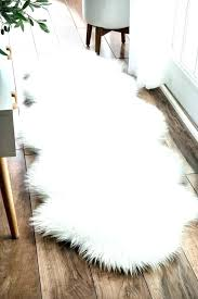 large grey fur rug white faux sheepskin area fluffy rugs small big w