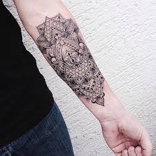 Mandala Forearm Tattoo Amazing Tattoo Ideas