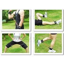 leg resistance bands set of 4