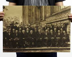 Buy 1927 Solvay Conference on Quantum Mechanics Physics Albert Einstein  Marie Curie Poster Photo XL Posters 24x36 in Cheap Price on Alibaba.com