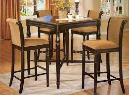 high kitchen table set. Tall Kitchen Table And Chairs Counter Height Dining Set Bar With Style High Ici Frost