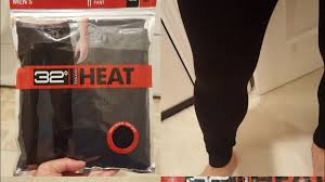 32 Degrees Heat Size Chart Costco 32 Degree Heat Mens Base Layer Pant 7 Review