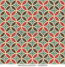 Retro Pattern Magnificent Geometric Seamless Vector Pattern Abstract Background Stock Vector