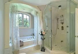 corner tub shower rod bath corner garden tub shower rods