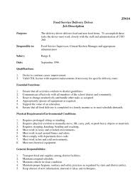 Driver Job Description Template Aradio Tk Jd Templates Truck Resume