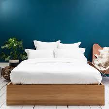 400tc luxury white bedding set