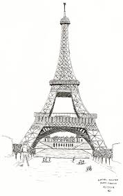 Small Picture Coloring Pages Eiffel Tower In Paris Coloring Page Free Printable