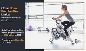 home exercise bike market size share