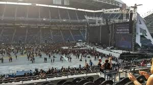 Metallica Seattle Seating Chart Centurylink Field Section 209 Row G Metallica Tour