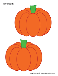 Click on the pumpkin coloring page you'd like to print there are pumpkin coloring pages with images of pumpkins on the vine, jack o' lanterns, pumpkin candy, a scarecrow and pumpkin, a. Pumpkins Free Printable Templates Coloring Pages Firstpalette Com