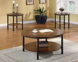 innovative small dark wood side table round dark wood coffee and end table sets 24 round