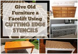 cutting edge furniture. in the original post i mentioned that had another dresser and a table to paint after discovering cutting edge stencils knew exactly how wanted furniture f