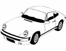 Kleurennu Snelle Porsche Kleurplaten