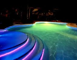 swimming pool lighting design. Architecture Swimming Pool Lights On WinLights Com Deluxe Interior Lighting Regarding Outdoor Remodel 17 Wire Railing Design