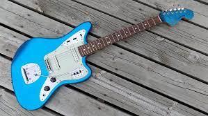1999 2002 Fender Jaguar Cij Japan 62 Reissue Matching Headstock Electric Guitar Electric Guitar For Sale Guitar Electric Guitar