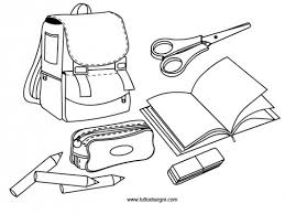 Materiale Per La Scuola Da Colorare Tuttodisegnicom
