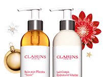 spa liday with clarins total wellbeing for skin and senses