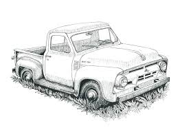 easy truck drawing – johnsimpkins.com