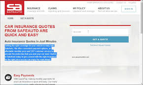 Safe Auto Insurance Quote Custom Top Companies Providing Cheap Auto Insurance Quotes Science And