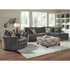 Rooms To Go Living Room Set American Signature Furniture Grey Cordoba 2 Pc Sectional