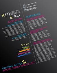 Creative Graphic Design Resumes 40 Creative Cv Resume Designs