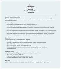 Traditional Resume Format Free Resume Templates 2018