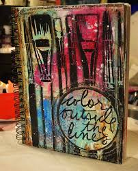 artist gang tuesday in 2018 mixed a art journal and art journal pages