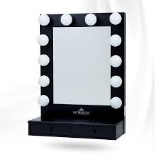 Impressions Vanity Co Hollywood Vogue Vanity Mirror With Drawers