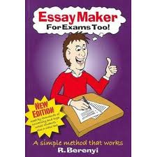 booktopia essay maker for exams too by regina berenyi booktopia essay maker for exams too by regina berenyi 9781876462956 buy this book online