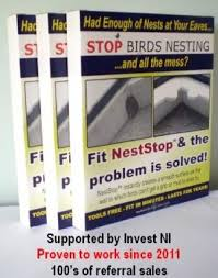 prevent birds from nesting. Simple Birds Stop Swallow Or House Martin Bird Nests At Eaves With Neststop Nest  Prevention No More Mess With This Harmless To Birds Kit Amazoncouk Garden U0026  For Prevent From Nesting M