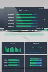 Video Performance Chart Enterprise Company Performance Growth Data Sheet Pie Chart