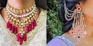 Amazing ideas indian bridal jewellery designs Bridal Makeup The Most Gorgeous Jewellery We Spotted In Under 15k For The Quintessential Sister Of The Bride Wedmegood Wedmegood Best Indian Wedding Blog For Planning Ideas