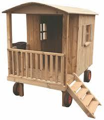 Allstars Spielplatz Zirkuswagen Spielwagen Spielhaus Holz Mit