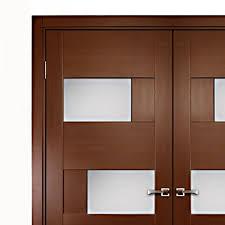 aries interior double door with glass panels 1