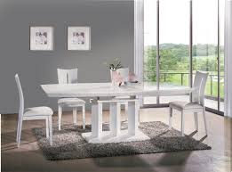 Modern White Dining Room Set Va9818 Dc8896 Modern White Dining Room Set By At Home Usa Free