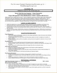 Stationary Engineer Resume Sample Sample Resume Supplier Quality Assurance New Pleasing Resume 2