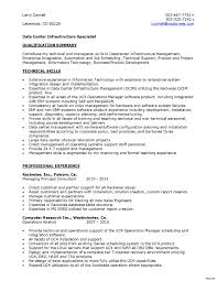 Data Center Technician Resume Sample Data center technician resume diet 60 btechnician 60 bresume examples 5