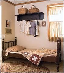 colonial bedroom ideas. Primitive Americana Decorating Style - Folk Art Heartland Decor Rustic Home Colonial Bedroom Ideas O