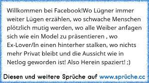Willkommen Bei Facebookwo Lügner Immer Weiter Lügen Erzählen Wo
