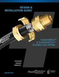 Gastite Csst Sizing Chart Gastite Flexible Gas Piping System