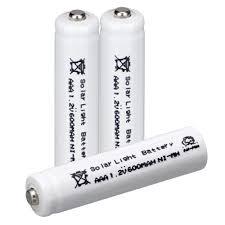Hixon 32V 500mAh 14430 LiFePo4 Rechargeable IFR14430 Solar Garden Solar Garden Lights Batteries Rechargeable