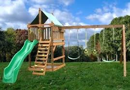 home depot swing set kit classic fort wooden kits anchor canada accessories