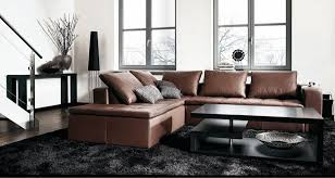 living room with black furniture. Contemporary Living Room Furniture With Black